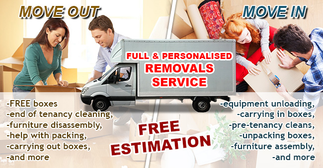 Removals & cleaning service Kent